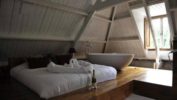 Above Loft Bedroom Hotel Restaurant Groot Warnsborn