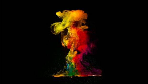 Abstract Color Smoke Effect