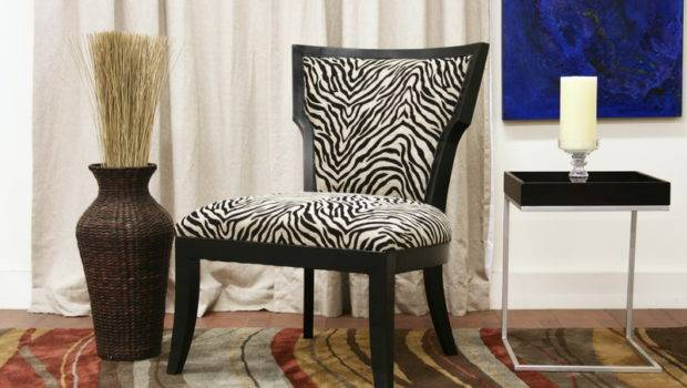 Accent Chairs Dining Room Zebra Print