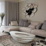 Accessories Engaging Modern Living Room Decoration Using