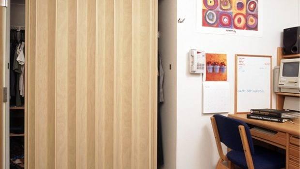 Accordion Closet Doors Space Saving Ideas Your Home