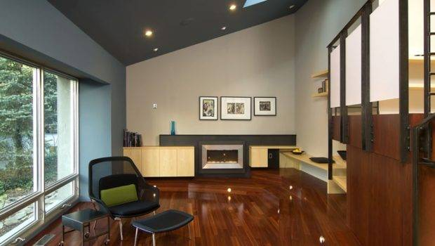 Add Dramatic Appeal Painting Your Ceilings Bold Black