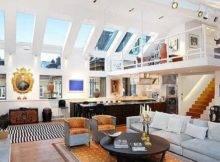 Aesthetically Advanced Living Room Designs High