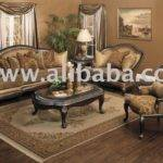 Alicia Cleopatra Sofa Set Furnitures Dining Table Curtains
