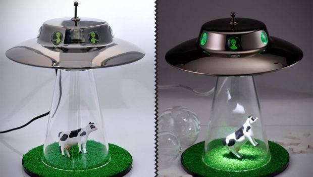 Alien Abduction Lamp Mikeshouts