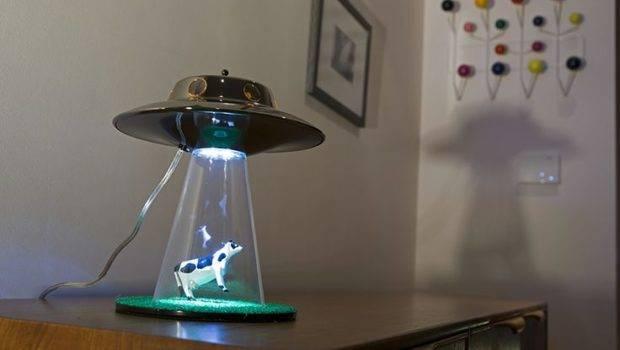 Alien Abduction Lamp Nerd Cave Pinterest