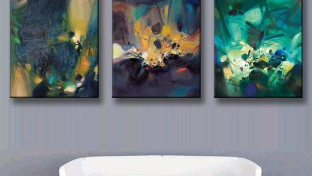 Aliexpress Buy Pcs Set Modern Abstract Oil