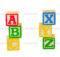 Alphabet Blocks Isolated White