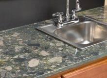 Amazing Crushed Glass Countertops Countertop