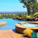 Amazing Infinity Pool Designs Swimming Quote