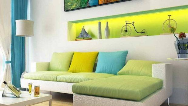Analogous Color Scheme Room Green