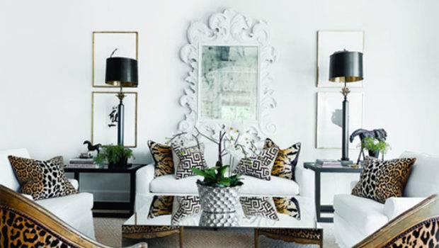 Animal Print Decorations Living Room Modern Home