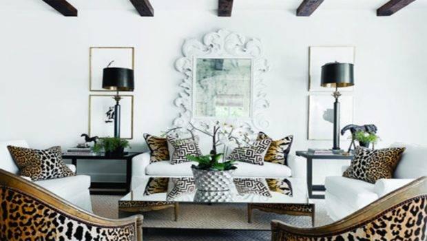 Animal Print Living Room Chairs Pillows Leopard Cheetah