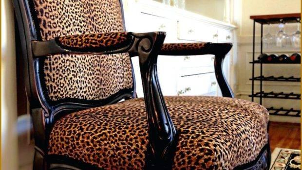 Animal Print Living Room Furniture Leopard Set