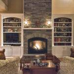 Another Beautiful Faux Stone Fireplace