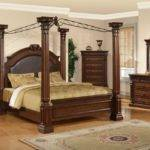 Antique Furniture Canopy Bed Drapes