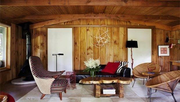 Antique Wood Interior Houses Ideas Walls