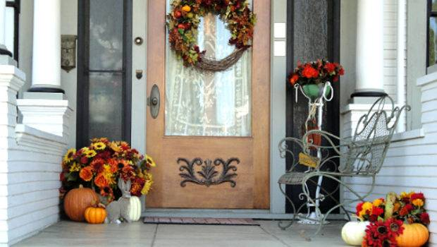 Anyone Can Decorate Fall Front Porch Ideas