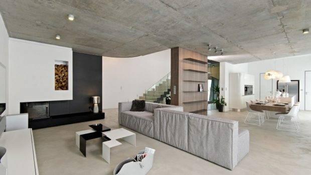 Apartment Concrete Interior Design