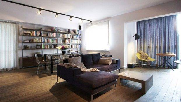 Apartment Stylish Poland Charms Cool Industrial