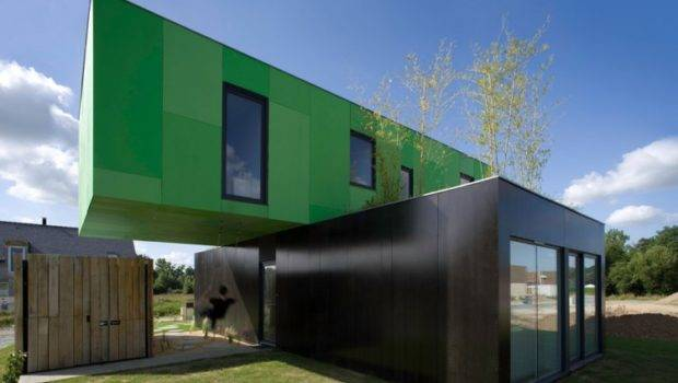 Architects Pont France Shipping Container Home