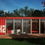 Architectural Visualization User Community Shipping Container House