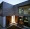 Architecture Exterior Elegant Small Modern House Designs Grey