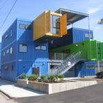 Architecture Houses Built Sea Containers Conex House Erins