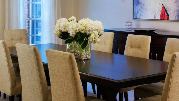 Astounding Simple Dining Room Table Centerpieces