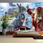 Avengers Boys Bedroom Custom Wall