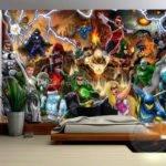 Avengers Marvel Comics Wall Mural Custom
