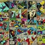 Avengers Marvel Hero Comic Hulk Spiderman Wall Mural