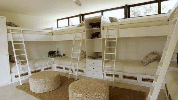 Awesome Bunk Room Storage Kidspace Interiors