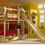 Awesome Loft Beds Slide These Play Bunk