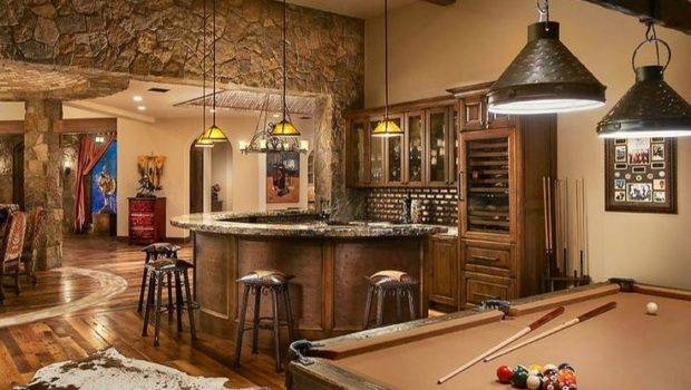 Awesome Man Cave Basement Farm House Let Winning Pair