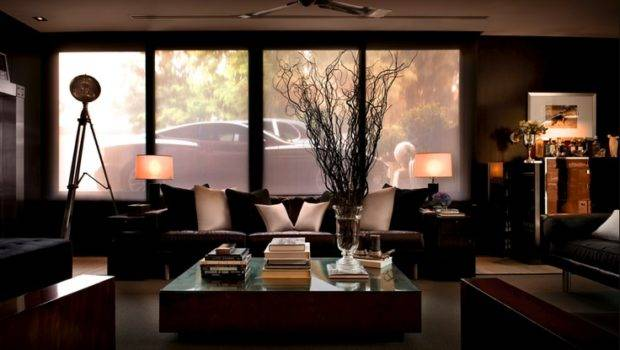 Awesome Masculine Living Space Design Ideas Different Styles