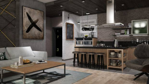 Awesome New York Style Apartment Interior Design Roohome