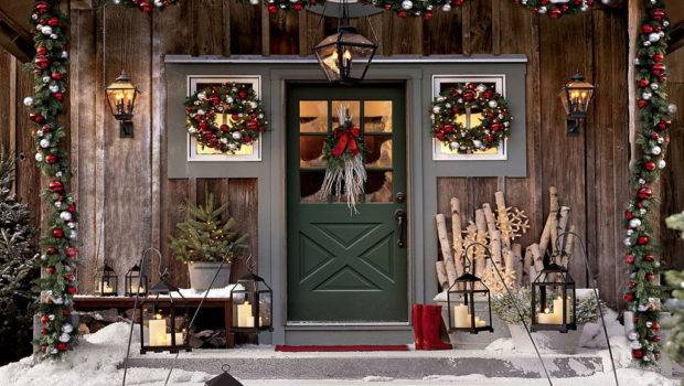 Awesome Rustic Outdoor Christmas Decorating Ideas