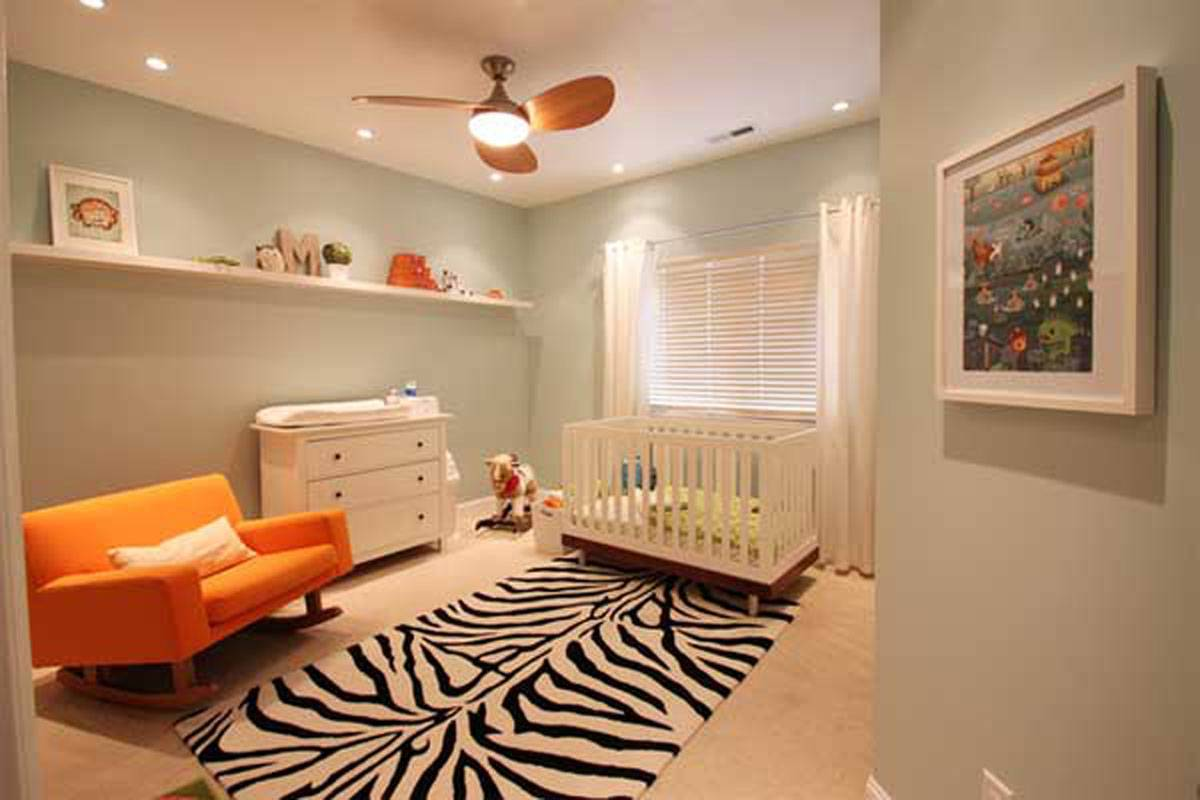 Midcentury Modern Toddler Boy Room
