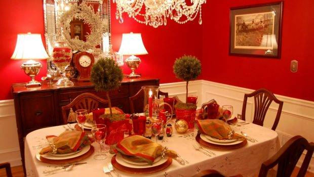 Back Post Decorate Your Christmas Table