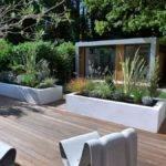Back Post Modern Garden Design Ideas