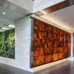 Backlit Wood Veneer Panels Feature Walls National Cancer Gpi