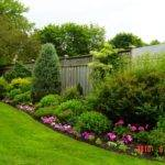 Backyard Flower Garden Designs Organic Gardening Lawn