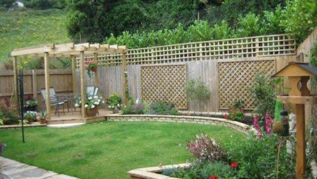 Backyard Garden Design Architectural