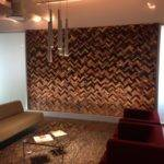 Barn Wood Wall Tiles Feature