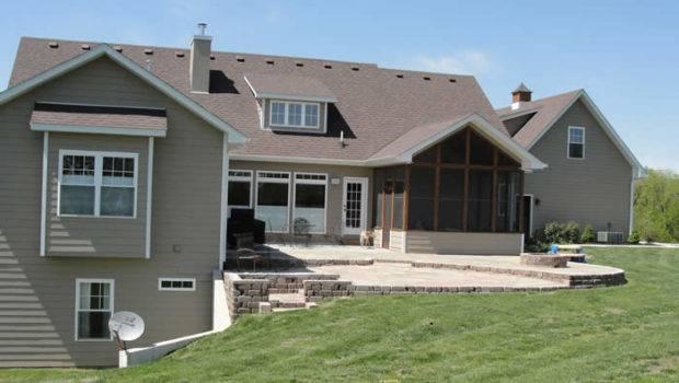 Basement Details Custom Homes House Walk Out