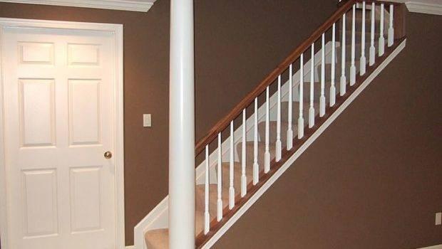 Basement Ideas Open Stairs Wall Pinterest