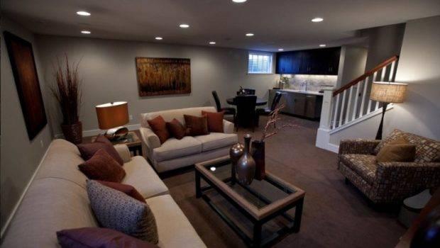 Basement Living Room Decorating Ideas House Remodeling