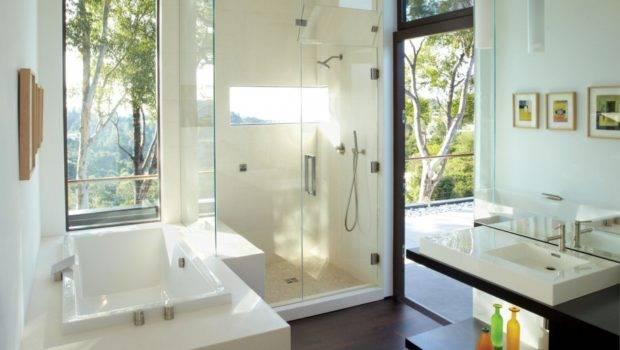 Bathroom Contemporary Design Ideas Glass