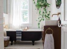 Bathroom Decor Crush Black Bath Tub